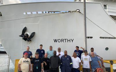 USAV Worthy Participates in Landmark Missile Test