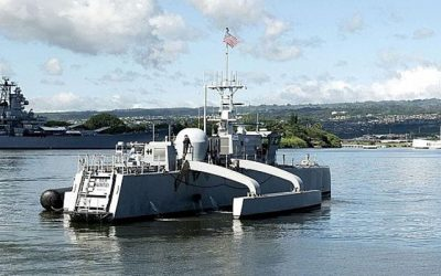 Navy's Revolutionary Sea Hunter Drone Ship Being Tested Out of Pearl Harbor