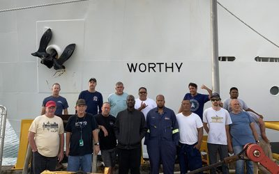 USAV Worthy Participates in Landmark Missile Test